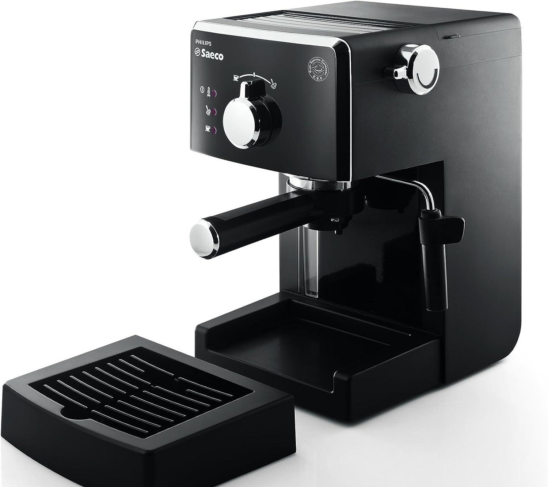 Saeco HD8423/11 - Máquina de café espresso manual, 950 W, color negro: Amazon.es: Hogar