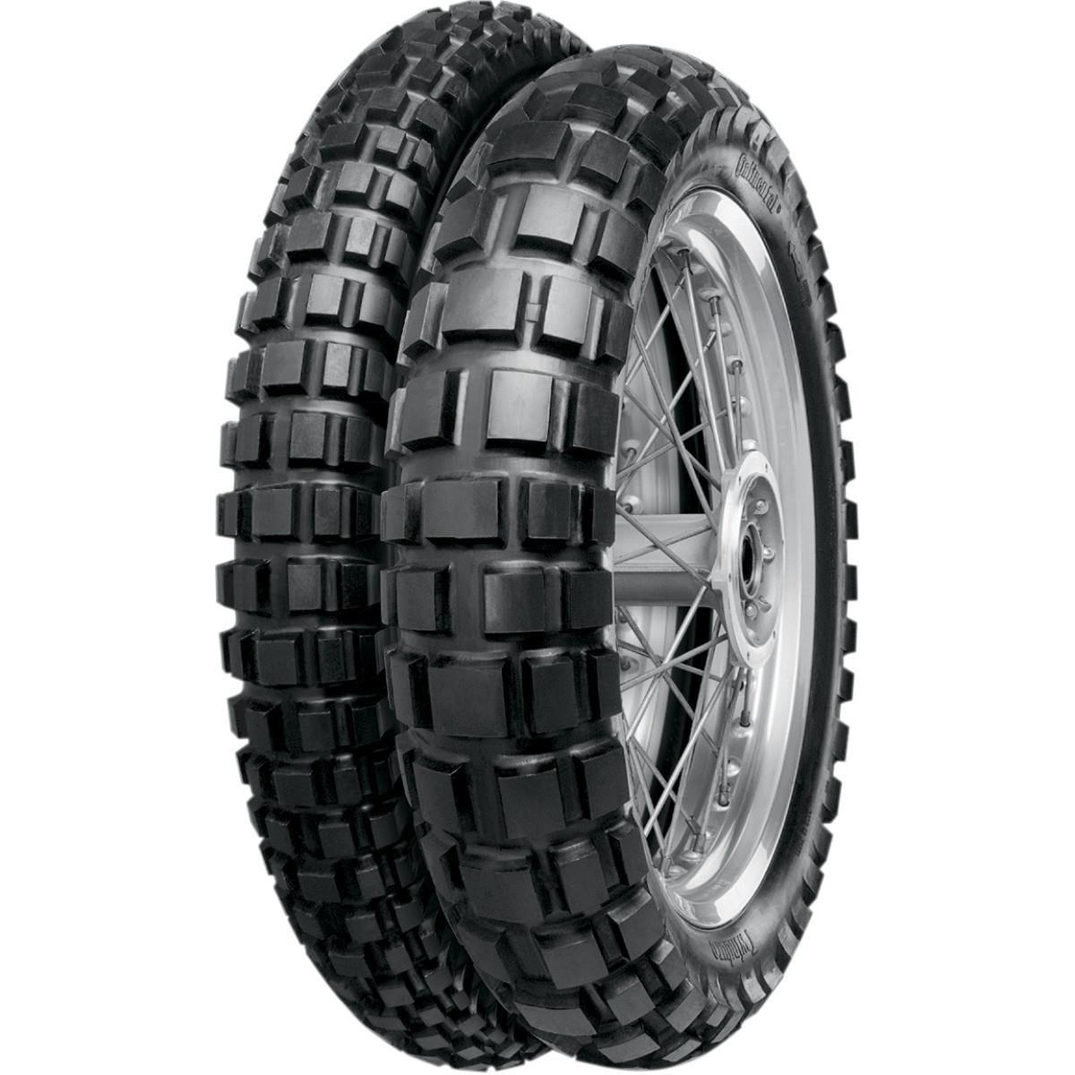 Continental Conti Twinduro TKC80 Dual Sport Tire - Front - 120/70B19 , Position: Front, Rim Size: 19, Tire Application: All-Terrain, Tire Size: 120/70-19, Tire Type: Dual Sport, Tire Construction: Bias 02400830000