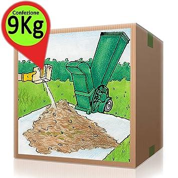 AZIMUTHCOMPOST Compostaje Paquete Activador Compost De Los Ahorros Compostador 9 Kg