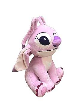 Lilo Stitch Pack 2 Peluches Stitch Et Angel Stitch Rose