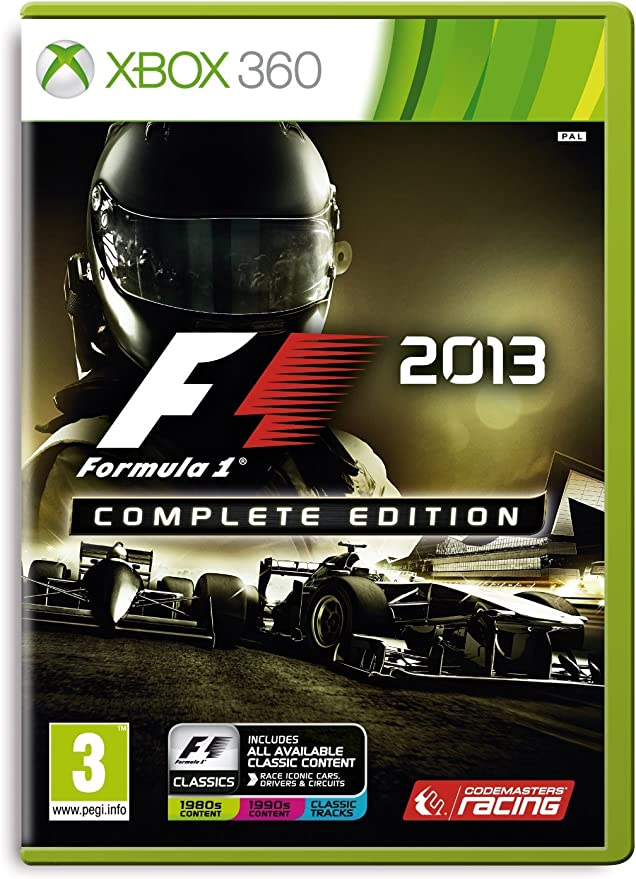 Roll over image to zoom in Formula 1 2013: Complete Edition (Xbox 360): Amazon.es: Videojuegos