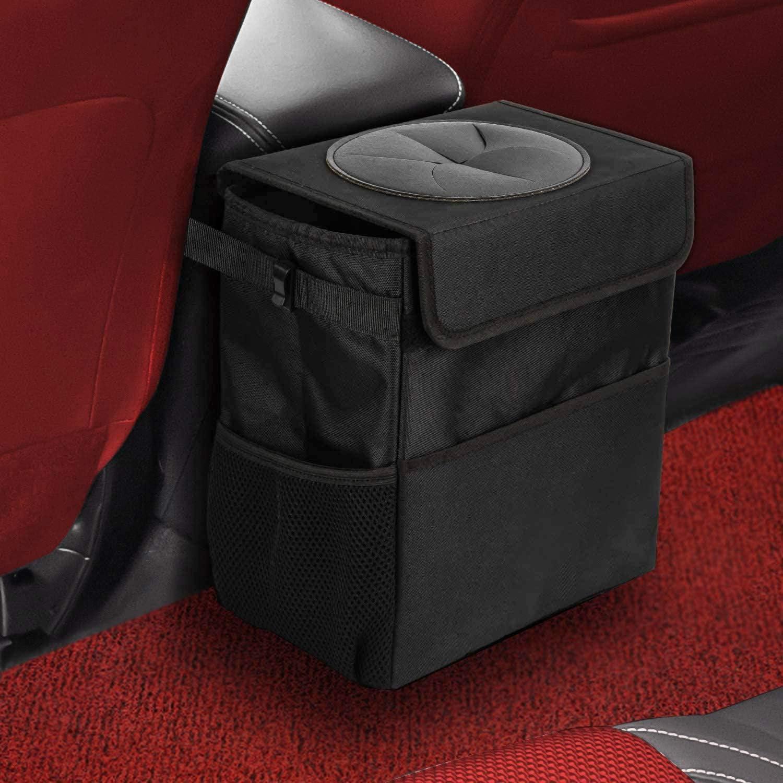 PEA Car Trash Bag Cleaning Bag Trash Bin Rubbish Bags Self Adhesive YI