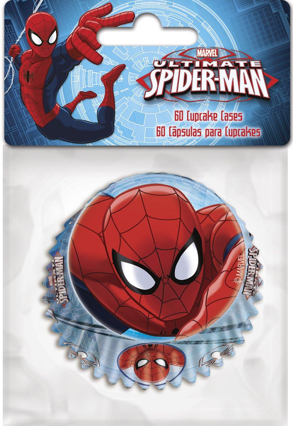 Boyztoys 60 pirottini per cupcake, motivo Spider man Boyz Toys ST274
