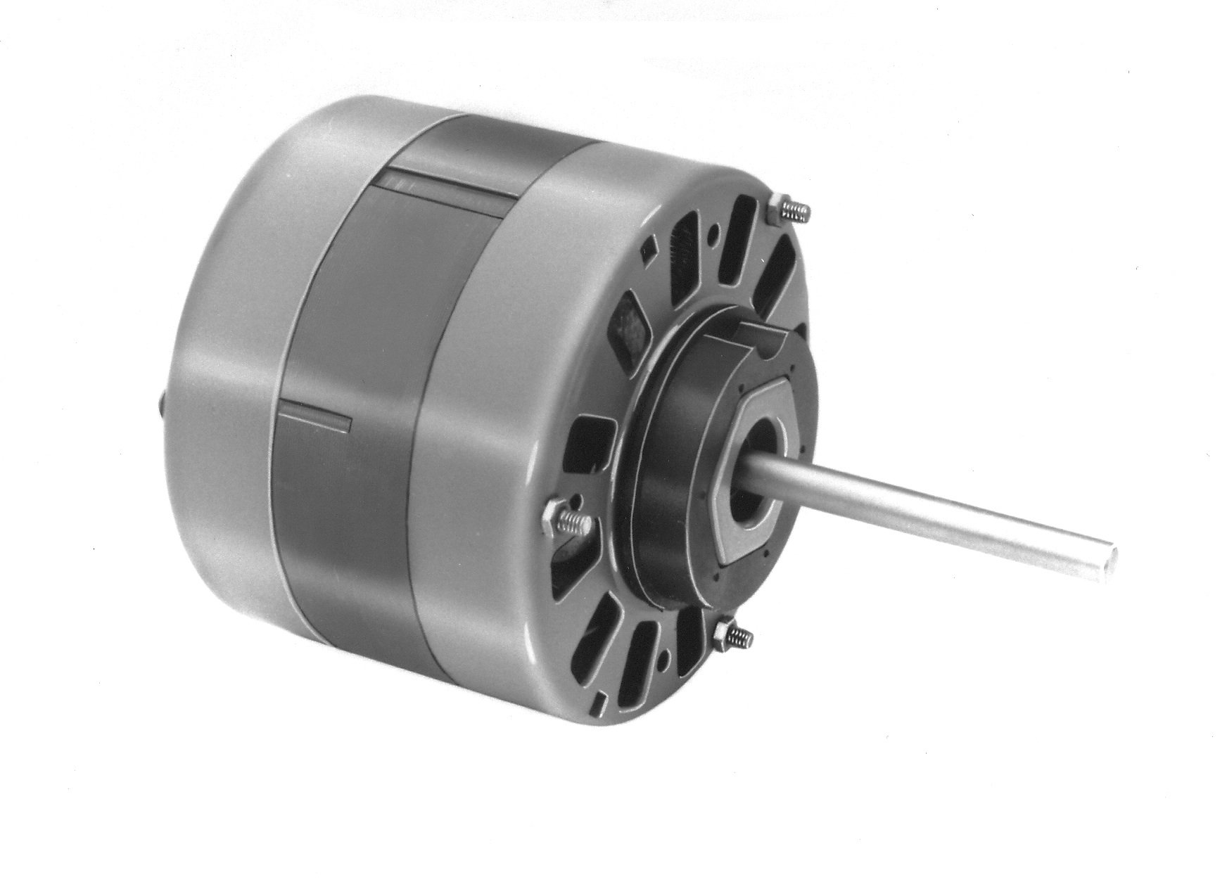 Fasco D160 5'' Frame Open Ventilated Shaded Pole Direct Drive Blower Motor with Sleeve Bearing, 1/10-1/12-1/15HP, 1050rpm, 115V, 60Hz, 3.4-2.8-2.4 amps