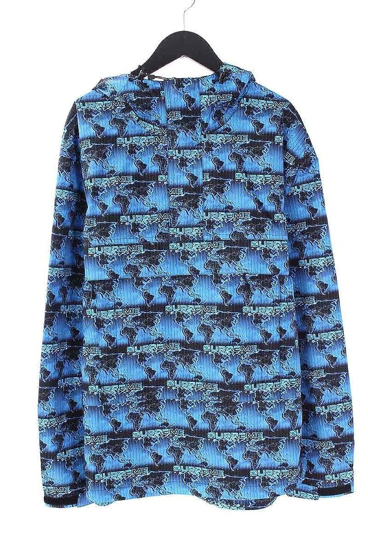 (シュプリーム) SUPREME 【18SS】【World Famous Taped Seam Hooded Pullover】ワールドフェイマステープドプルオーバーパーカー(M/ブルー) 中古 B07DXJCJK3  -