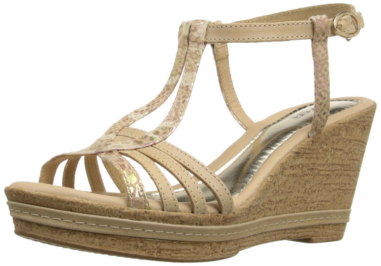 Azura by Spring Step Women's Midsummer Wedge Sandal B015RB0DOO 40 M EU / 9 B(M) US|Beige