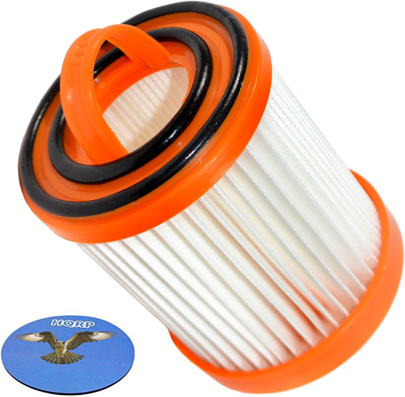 HQRP Dust Cup Filter for Eureka 5844AV, 5844AZ, 5845A, 5845AH, 5846AH, 5847AV, 5847AZ, 5847BV, 5848AV, 5848AVZ, 5849A, 5849E Litespeed Whirlwind Bagless Vacuum Cleaners Coaster