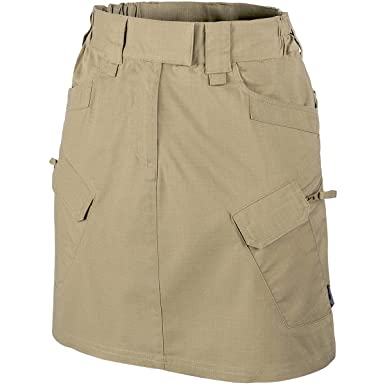 84f5787162 HELIKON-TEX Women's Urban Tactical Skirt Khaki Polycotton R/S Size 28/32