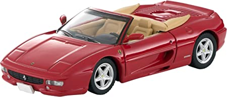 TOMYTEC Tomica Limited Vintage Neo 1/64 TLV-NEO Ferrari F355 Spider Red (Manufacturer First Order Limited Production) Finished Product
