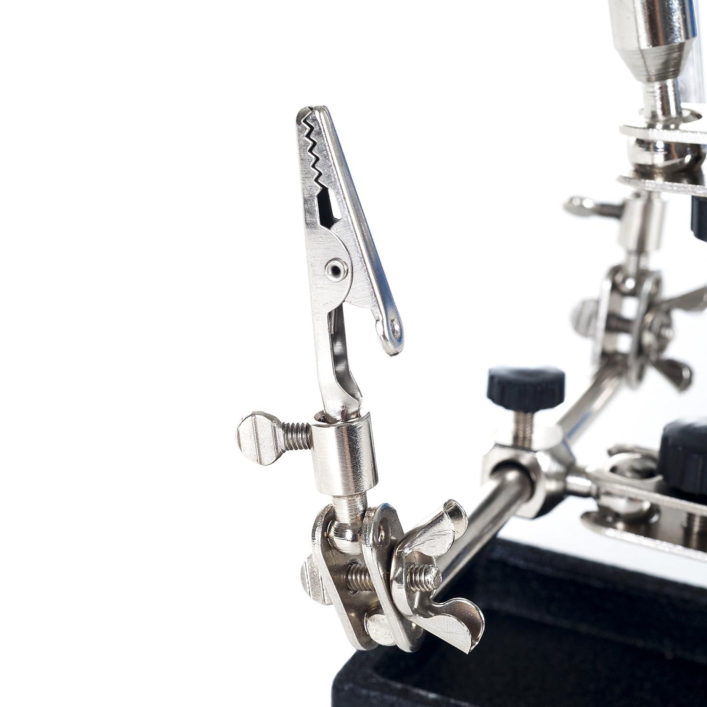 treues 2/x Helping Hand 8,9/cm Lupe mit St/änder