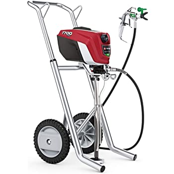 Titan Controlmax 1700 Pro 580006 W/ Cart High Efficiency Airless Paint Sprayer