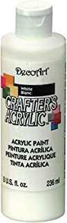 product image for DecoArt DCA01-9 Crafters Acrylic, 8-Ounce, White