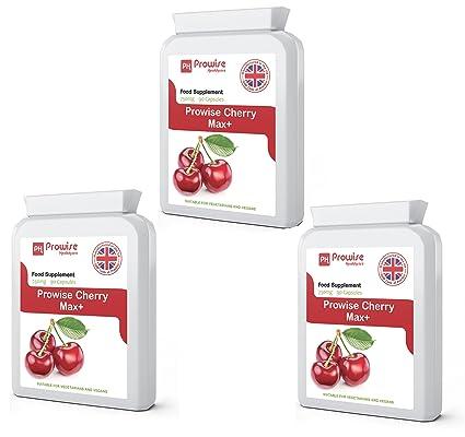 Cereza - Prowise Cherry Max 750 mg 90 cápsulas - Apto para vegetarianos y veganos -