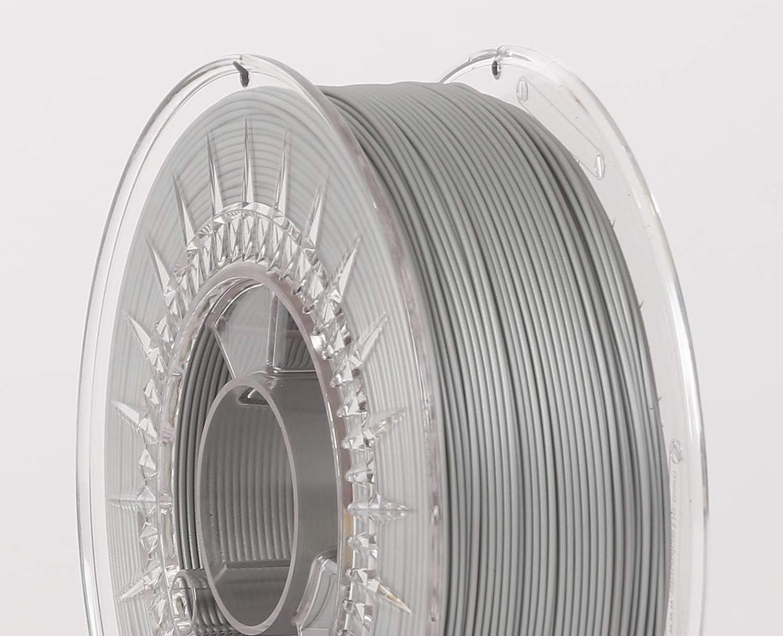 1 kg Silver Argent Impression avec smile 3D filament PLA 1,75 mm 1 kg 19