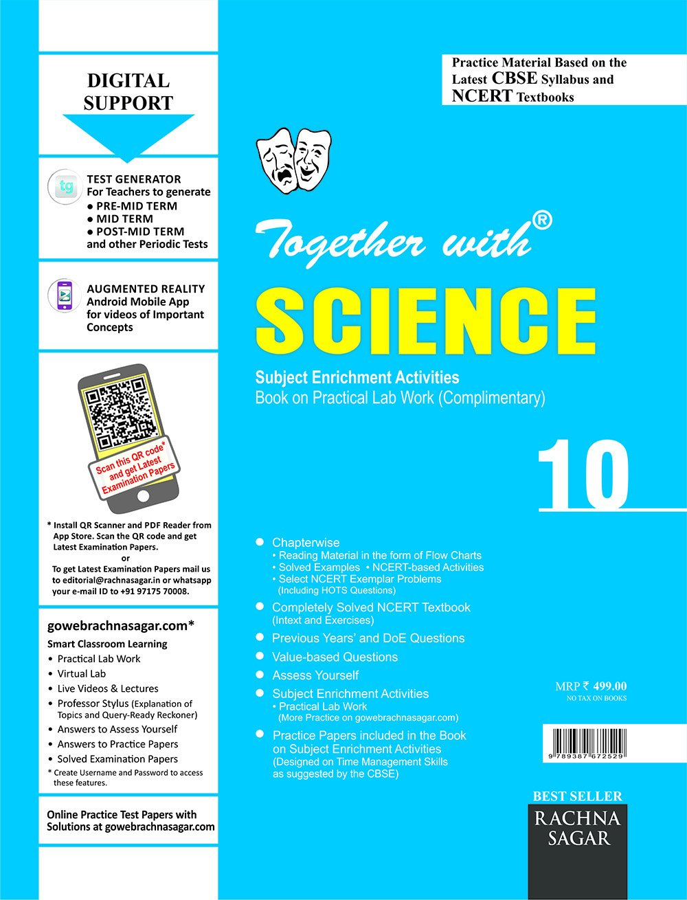 Together with CBSE/NCERT Practice Material Chapterwise for Class 10 ...