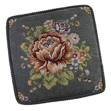 B Blesiya Cojín para Silla de Paseo de Bordado Floral ...