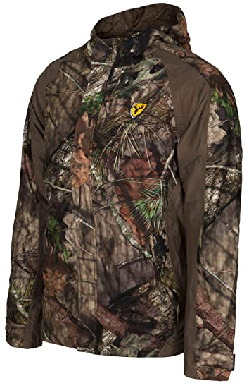 Scent Blocker 100% Polyester Full Front Zipper Drencher Insulated Jacket