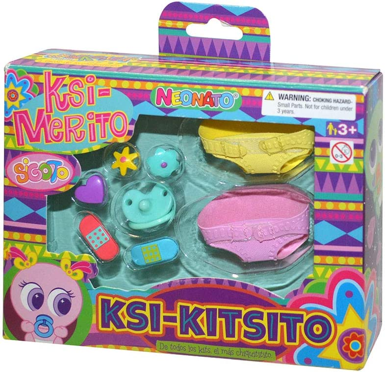 Distroller - Kit De Pañales Y Decoración Ksimerito