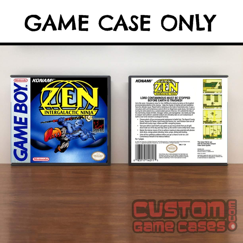 Amazon.com: Gameboy Zen the Intergalactic Ninja - Game Case ...