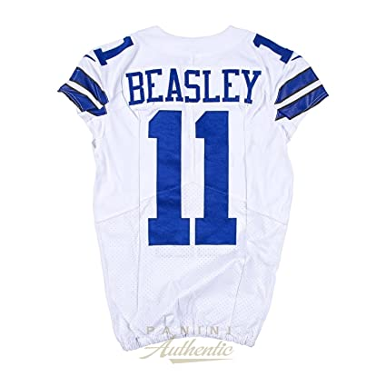 6742cef8b97 Image Unavailable. Image not available for. Color: Cole Beasley Game Worn Dallas  Cowboys Jersey ...