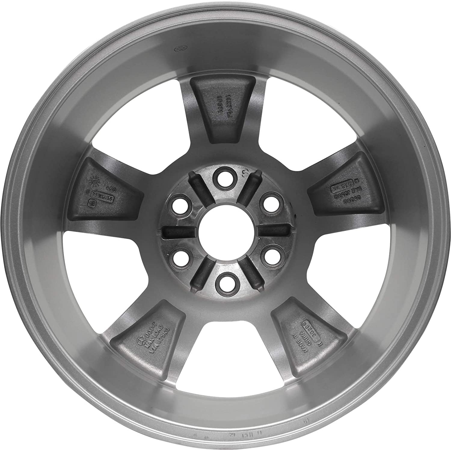 Partsynergy Replacement For New Aluminum Alloy Wheel Rim 18 Inch Fits 2007-2008 GMC Acadia 6-134mm 5 Spokes