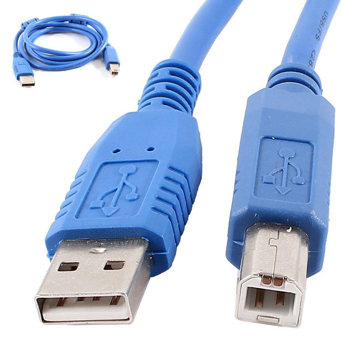 DealMux USB del Ordenador portátil 2.0 A Macho a B Macho Impresora ...