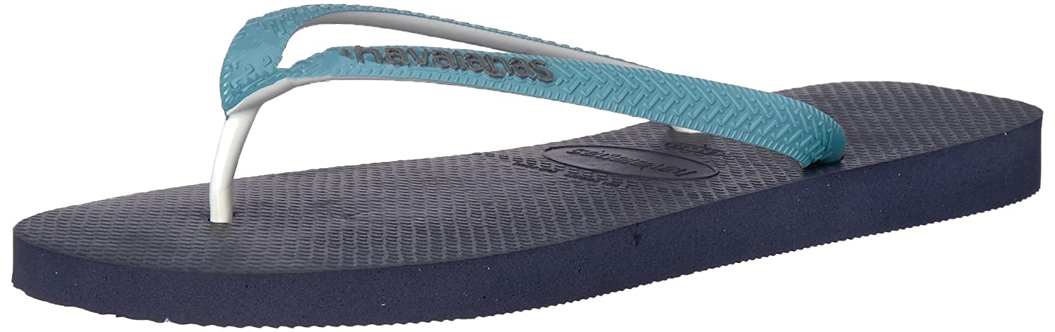 Havaianas Mens Top Mix Sandal Navy Mineral Blue Blue Size 130