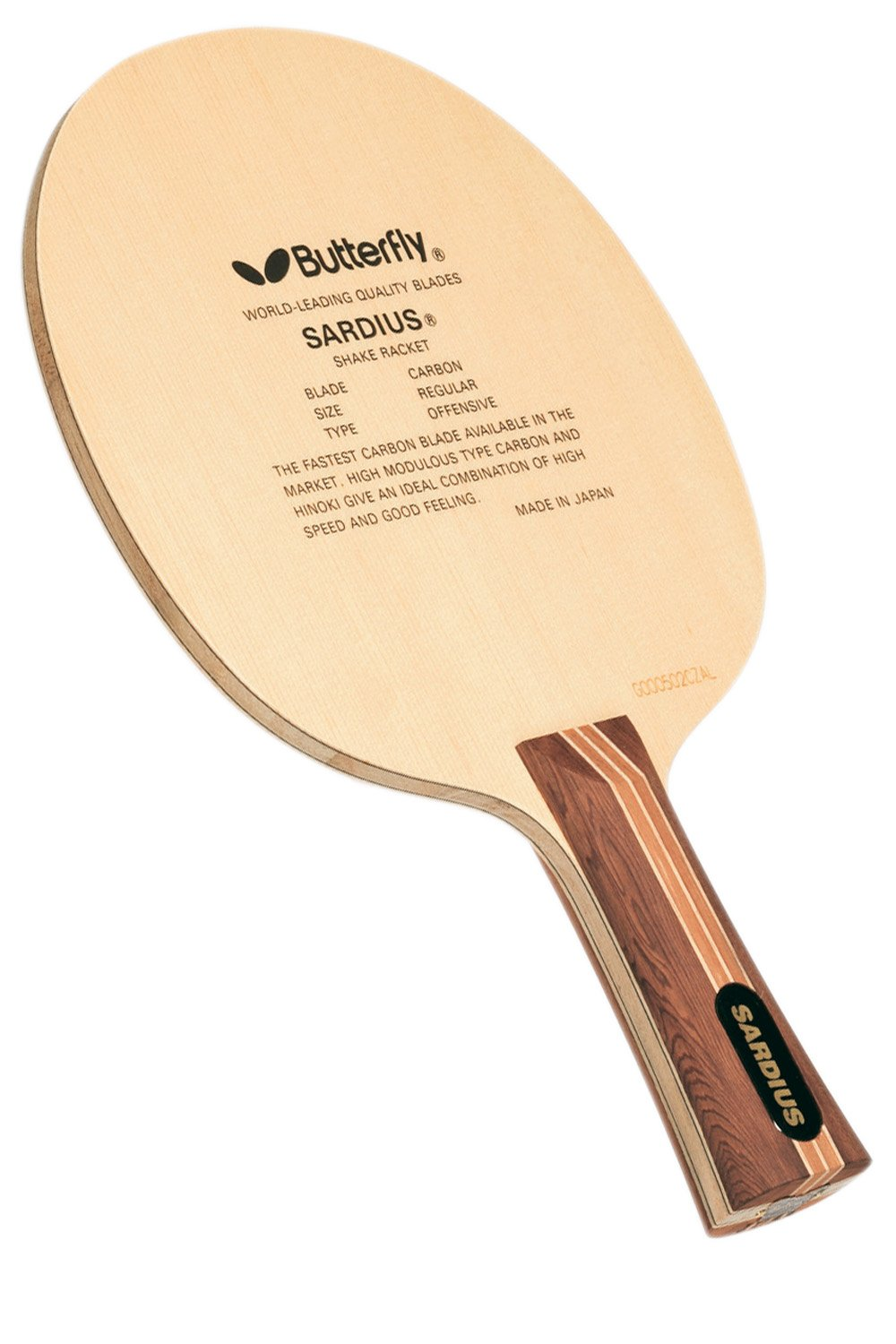 Butterfly Sardius-FL Blade with Flared Handle