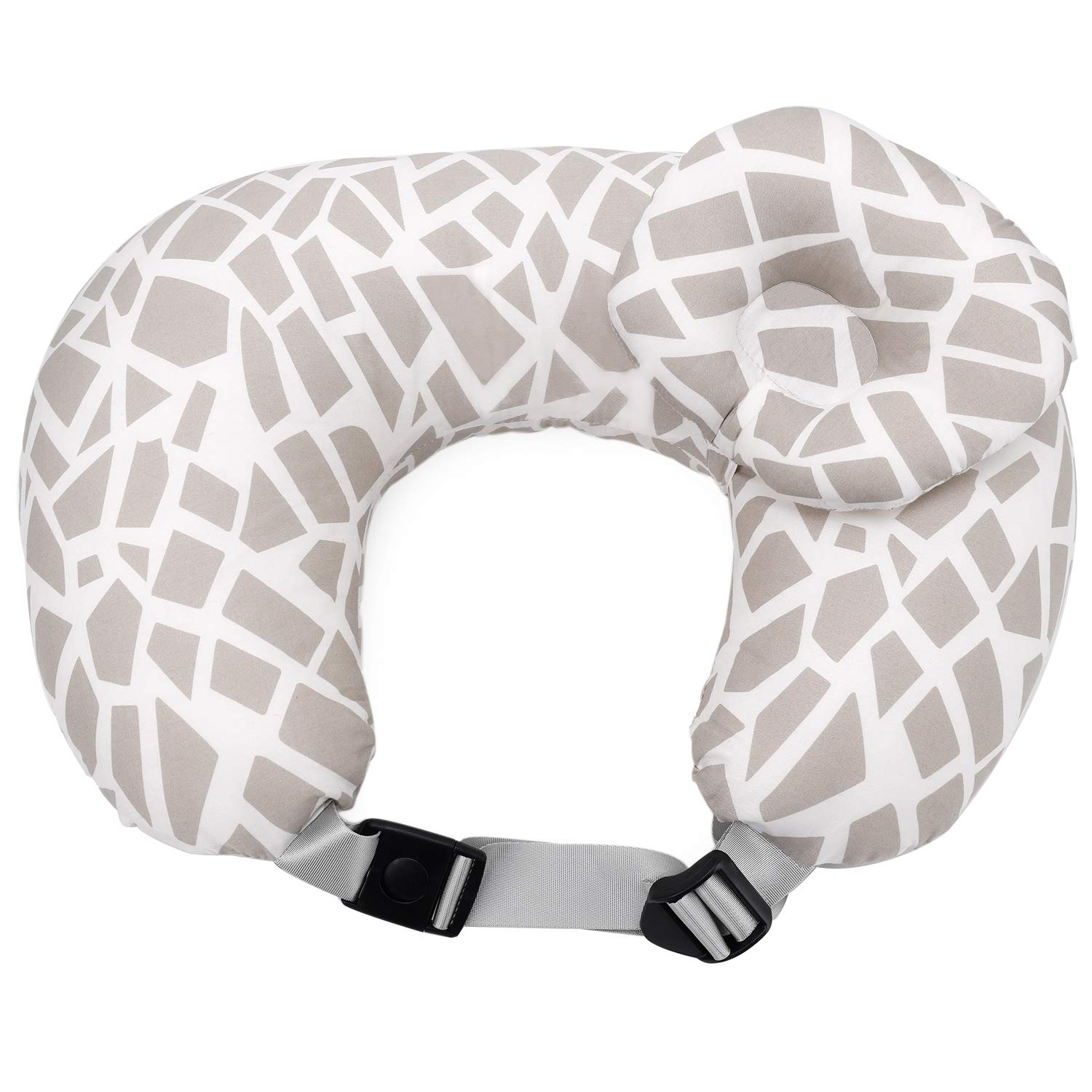 ISPINNER Nursing Pillow with Adjustable Belt | Easy Clean Newborn Baby Breastfeeding Pillow Cushion