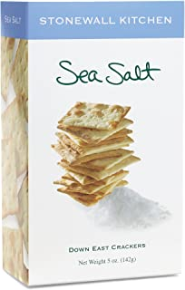 product image for Stonewall Kitchen Sea Salt Crackers, 5 Ounces