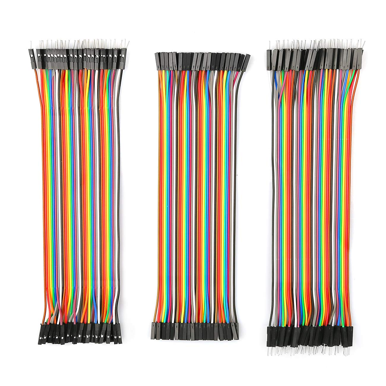 40pin Stecker zu Male HAUSPROFI 3 Set Standard Jumper Wires Plus 3 Set L/ötfreie Prototype Breadboard 830 Tie Points Breadboard 40pin Female zu Female 20cm Dr/ähte Dupont Kabel 40pin Male zu Female