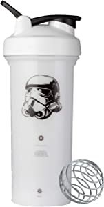 BlenderBottle C04347 Star Wars Pro Series 28-Ounce Shaker Bottle, Stormtrooper