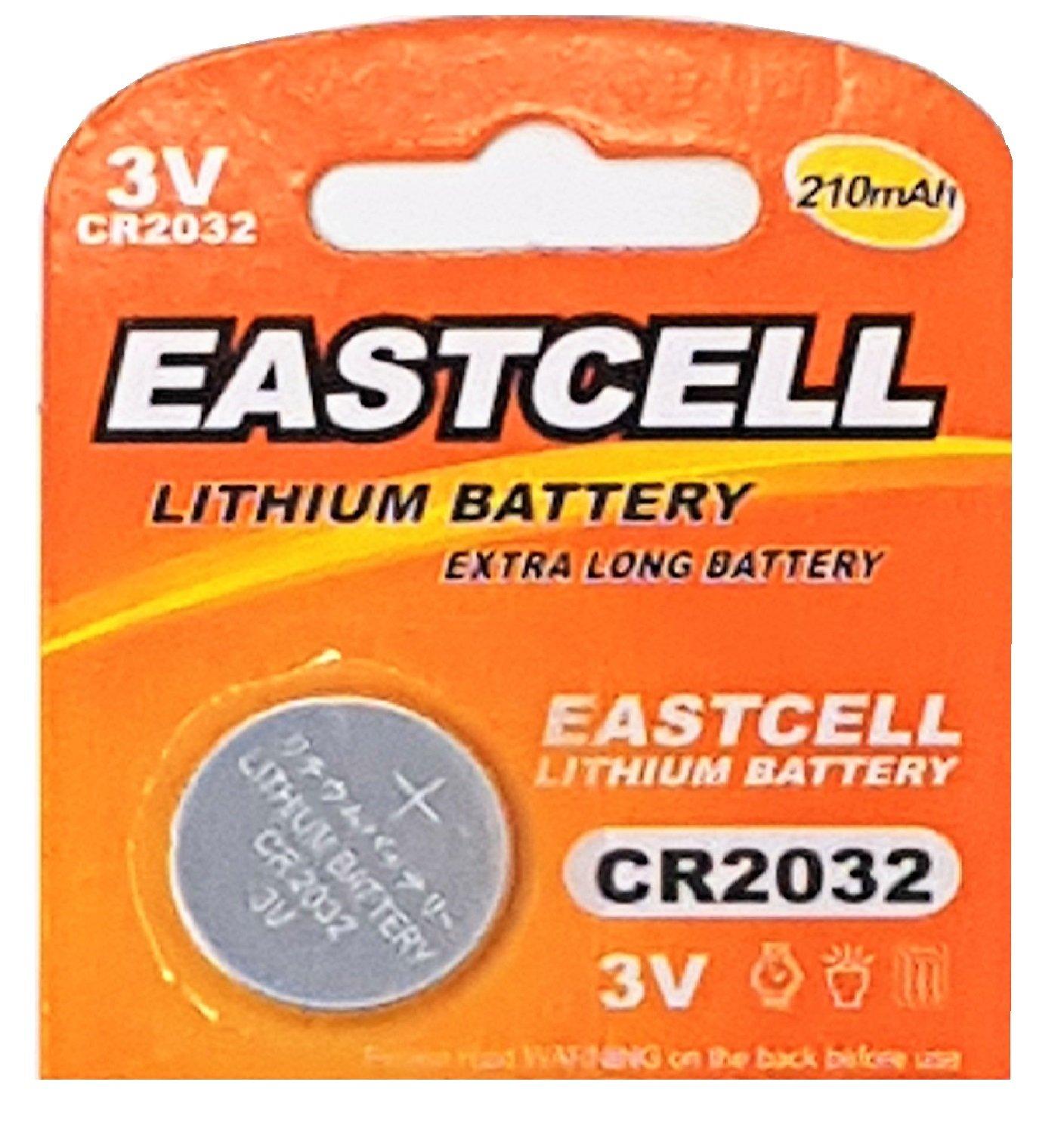 Pila de botón CR2032 de 3 V, de litio, recargable, 240 mAh, de ...
