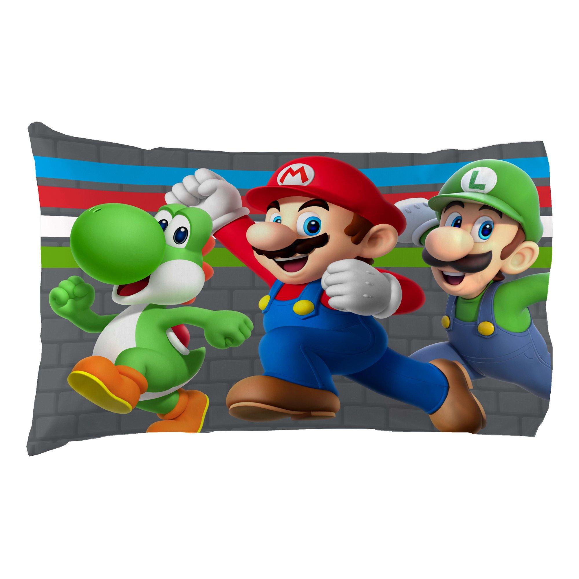 Nintendo Super Mario Trifecta Fun Twin Sheet Set by Nintendo (Image #4)