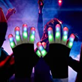 DX DA XIN LED Light up Gloves Finger Light Gloves