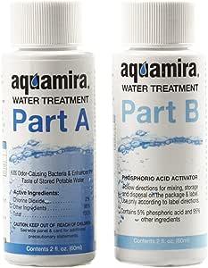 Aquamira Water Treatment, 2 Oz, Part A and B, Chlorine Dioxide