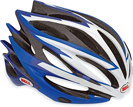BELL Sweep XC Racing - Casco para Bicicleta, Color Azul/Blanco ...