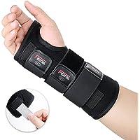 Featol Handgelenkbandage Handgelenkstütze Handgelenkschiene, Schutzfunktion Schmerzlinderung und die Stabilität unterstützen, behilflich für Männer und Frauen| Links & Rechts (Rechts, S/M(13-17)) …