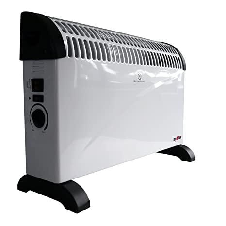 Grafner®, estufa convector de 2000 vatios con ventilador de refrigeración, turboventilador