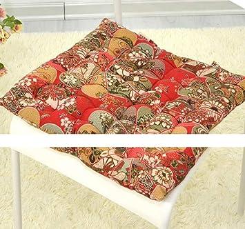 JUE Home Cushion Home Fashions Silla de Asiento/Respaldo Interior/Exterior, Almohadillas de