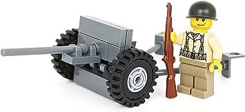 25mm Hotchkiss anti-tank gun lego kit