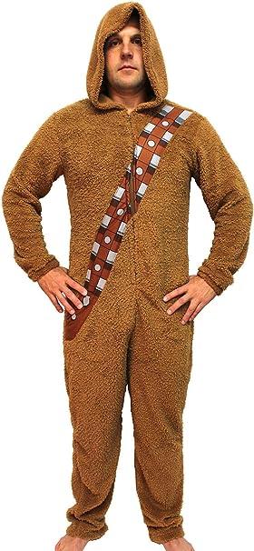 Amazon.com: Star Wars Chewbacca Wookiee adulto con capucha ...