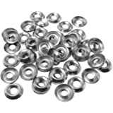304 SS Finishing Cup BCP574 100 Qty #8 Stainless Steel Countersunk Finish Washers
