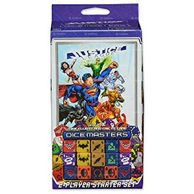 WizKids DC Dice Masters: Justice League: Starter Set: Toys & Games