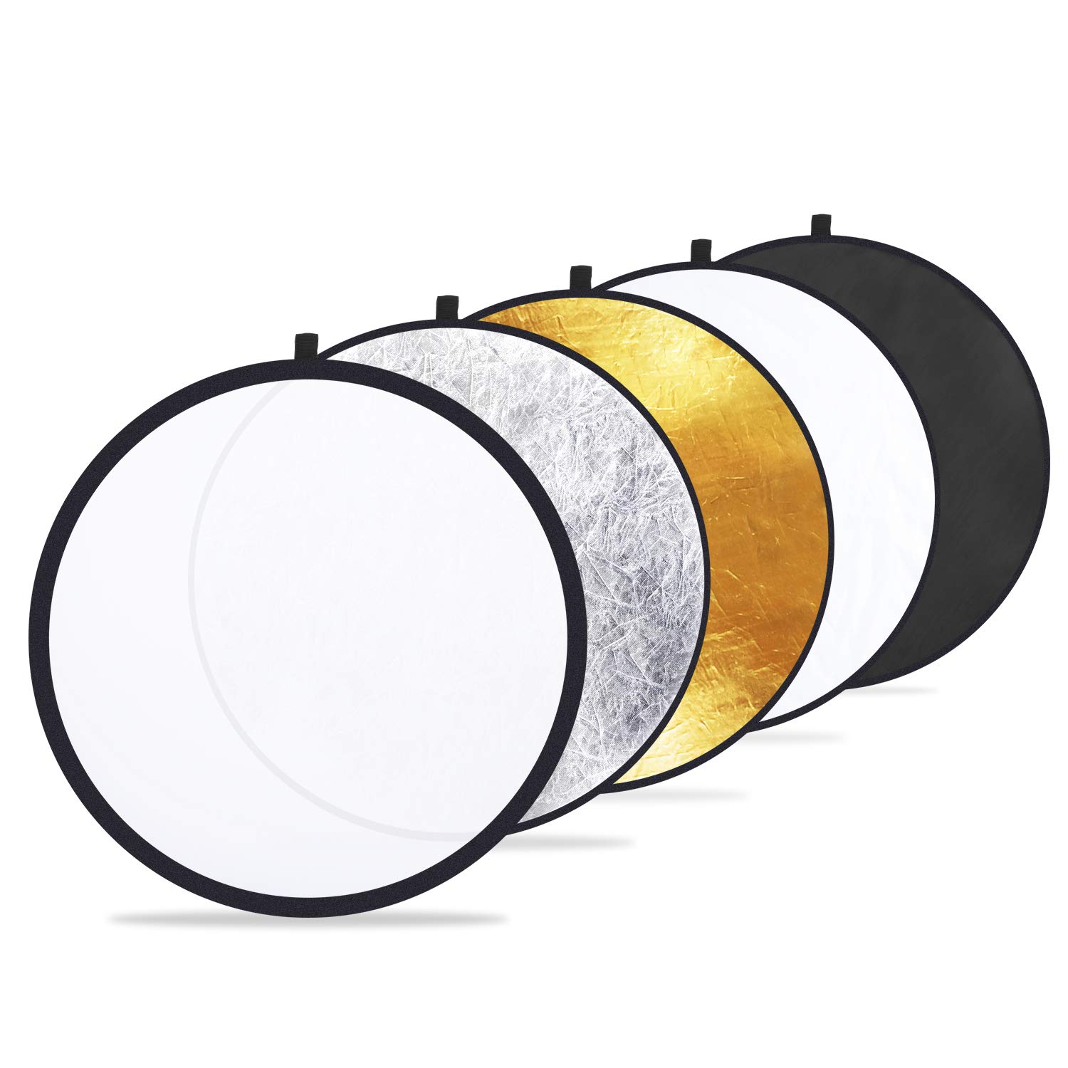 Phot-R 80cm Collapsible 5-in-1 Studio Reflector