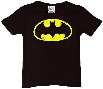 Logoshirt Camiseta de Batman de manga corta infantil: Amazon.es: Ropa y accesorios