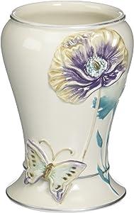 Creative Bath Garden Gate Ceramic Tumbler, Lilac