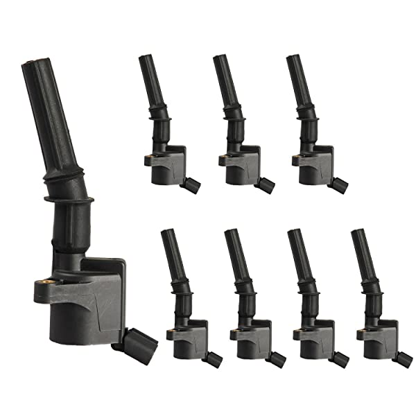 BRAND NEW SET OF 6 IGNITION COILS W// BOLT FOR LINCOLN FORD MERCURY DG508 FD503