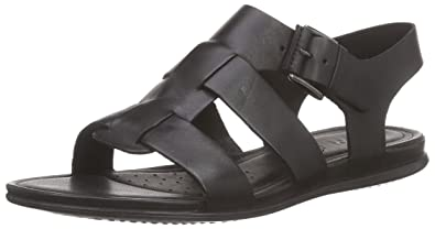 84e572e58ee79e ECCO Footwear Womens Women s Touch Buckle Sandal Black 35 EU 4-4.5 M US