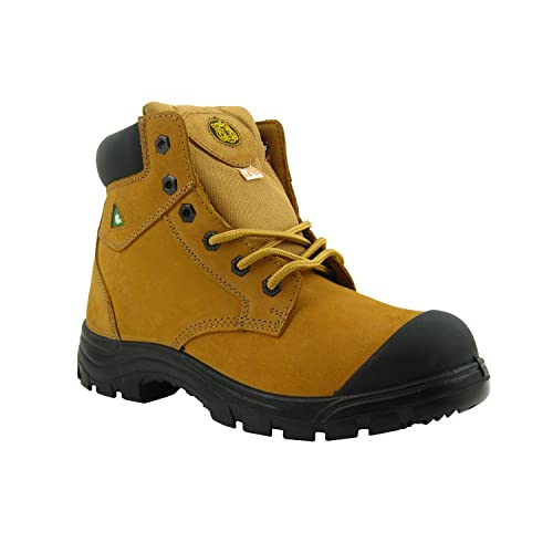 Tiger Safety Women S 6 inch Lightweight CSA Leather Work Safety Boots - 355  (6( 375c895f58